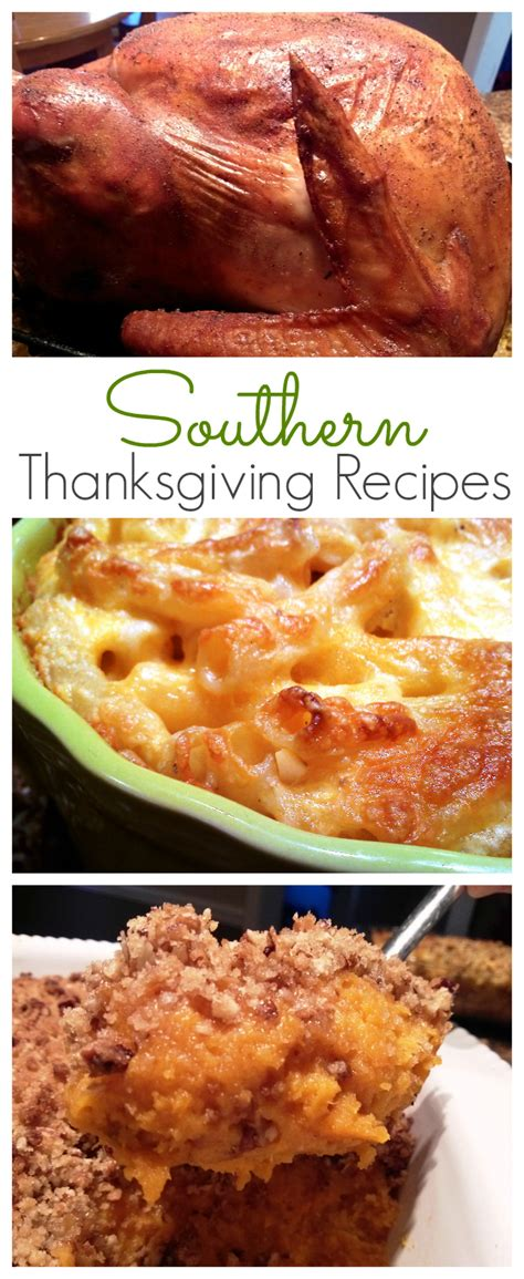 south  mouth southern thanksgiving recipes