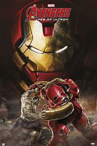 Marvel Avengers Age Of Ultron Hulk Vs Hulkbuster Poster ...