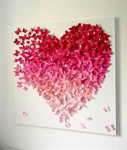 Modern d butterfly wall art for girls room nursery wedding