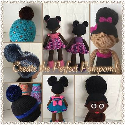 Afro Puffs Puff Perfect Doll Create Pompom