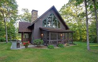 side porches deacon 39 s lodge cabins minnesota golf vacations breezy