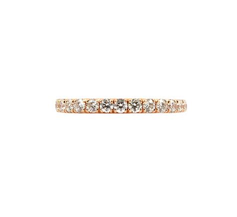 diamond rose gold wedding band b23266 diamonds pearls perth