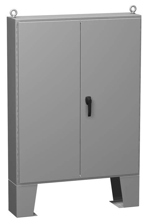Type 12 Mild Steel Two Door Floormount Enclosure (1422 FM