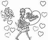 Amelia Bedelia Coloring Valentine Pages Wecoloringpage sketch template