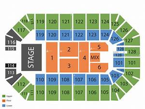 Ford Park Arena Seating Chart Events In Beaumont Tx