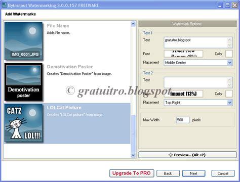 Programe Gratuite Bytescout Watermarking 320666