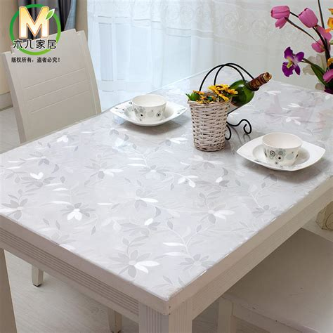 nappe pour table carree nappe plastique transparente pour table carree
