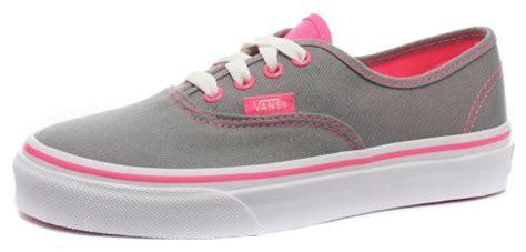 vans authentic neon pop grey pink 1 5