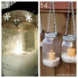 Mason Jar Candle Idea