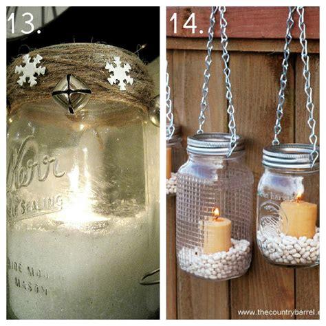 jar decor ideas garden candle ideas native home garden design