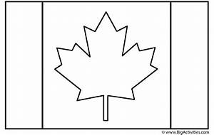 Canadian Flag Coloring Page Remembrance Day