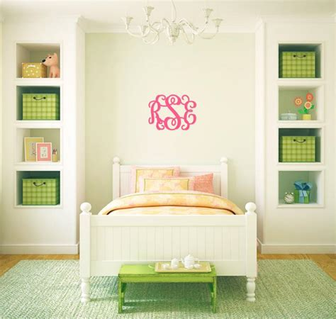 personalized wooden letters wall monogram  inches