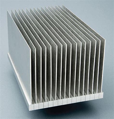 heat sink design creating large heat sinks