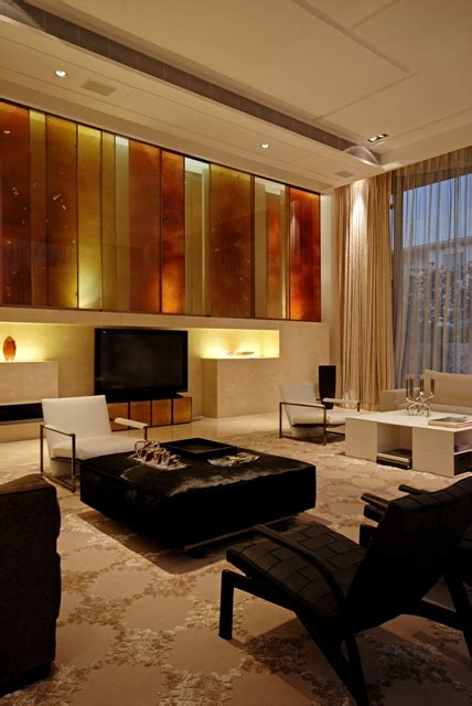 Warm House Interior Design in China by Thomas Chan - DigsDigs