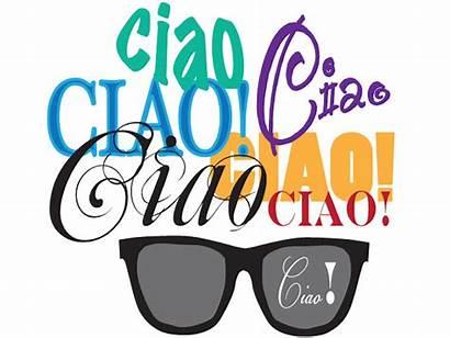 Ciao Bella Word Italian Origins Clipart Workshops