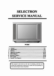 Selectron Pf2900 29286 Service Manual Pf2900 Pdf Diagramas