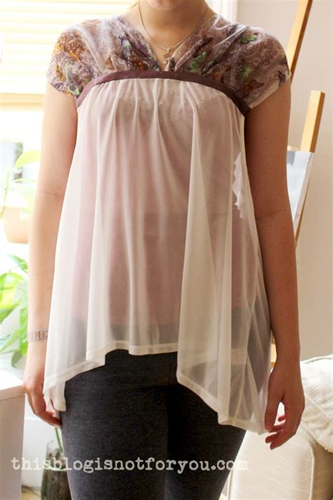 Draped Shirt Pattern - a draped butterfly shirt and a lot of handsewing sort of