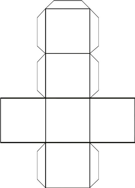 photo cubemaybe   dice box template printable