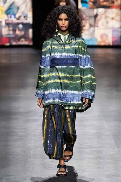 Dior Spring Runway Christian Trends Dye Tie