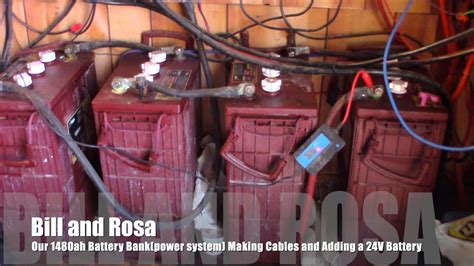 Our Off Grid Cabinah Battery Bank Power System Making