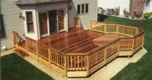20 x 20 deck with 10 extension building plans only at menards decks