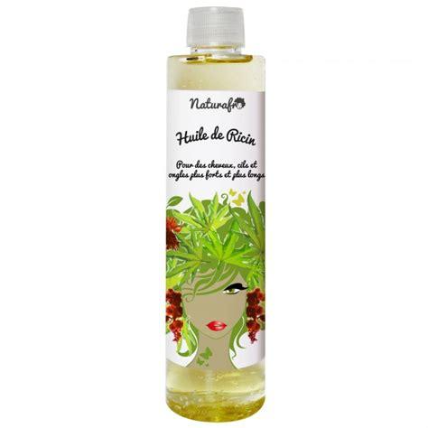 huile de ricin cheveux huile de castor pour les faire