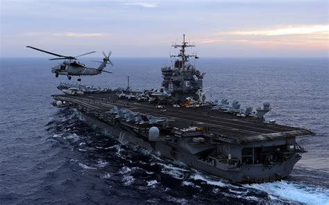Military Aircraft Carrier Helicopter Weapon Wallpaper