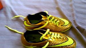 Gold Hypervenom Indoor Shoes images