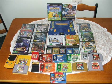 A Long History Of Collecting Pokemon Games Photo Included