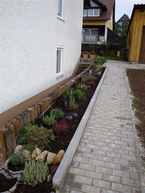 Beet Direkt An Hauswand by Neugestaltung Gartenbeet Welche Pflanzen So Sieht 180 S