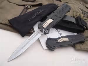 Benchmade BM 3300 Infidel tactical Knife double Action Fine edge good action Plain EDC pocket survival knife knives