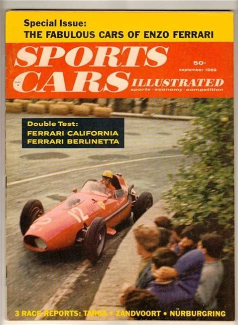 sports cars illustrated magazine 597 best images about vintage car magazines on