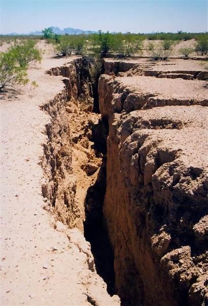 Earth Fissure Arizona Pinal Fissures Geology Maricopa