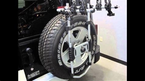 spare rack tire bike thule jeep wrangler mmm unlimited