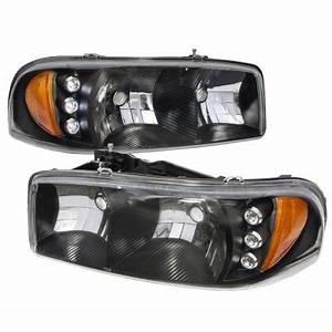 2006 F150 Light Bulbs Gmc Yukon Denali 2001 2006 Black Headlights Led Daytime