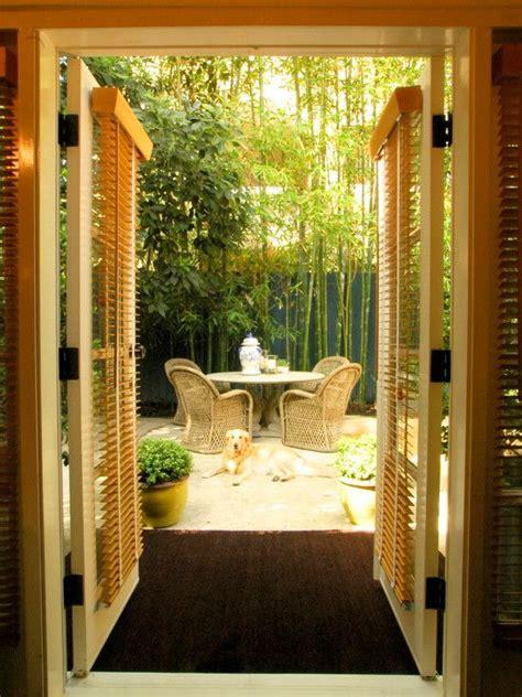 Garten Ideen Bambus by Terrasse Garten Idee Essbereich Bambus Pflanzen Garten