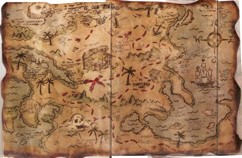 pictures   pirate map   clip art