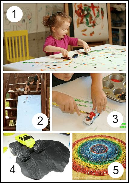 40 car activities for toddlers and preschoolers 494 | art
