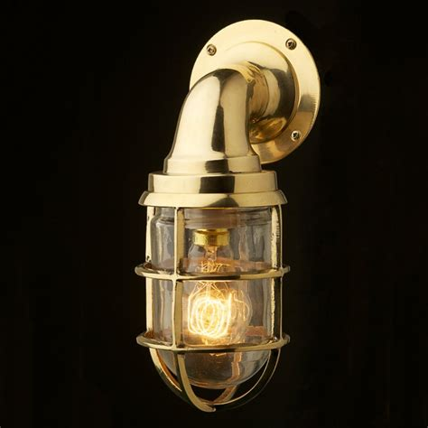 brass ship wall lights vintage ship brass bulkhead wall light