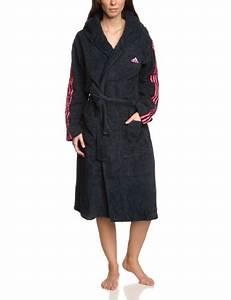Bademantel Damen Adidas : adidas damen bademantel 3 stripes bathrobe night shade bahia pink m f51243 ~ Orissabook.com Haus und Dekorationen