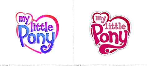 Brand New My Little Logo