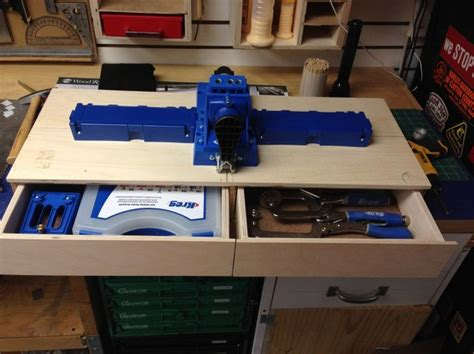 work station   kreg jig  woodworking kreg jig