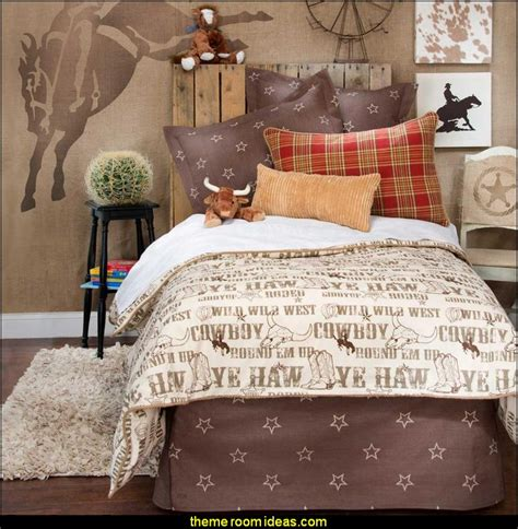 Decorating theme bedrooms Maries Manor: cowboy theme