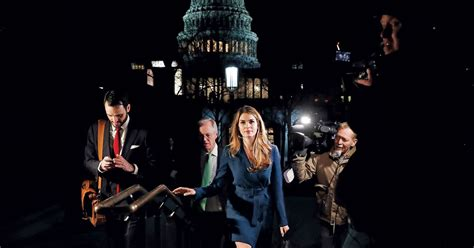 What Hope Hicks Learned in the White House