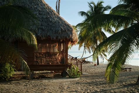 seafront cottages  turtle inn resort belize beach