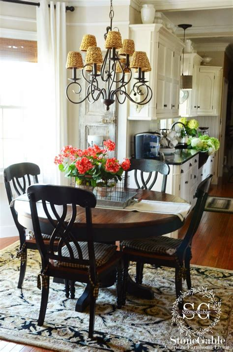 Decorating Ideas For Kitchen Tables by The Summer Farmhouse Kitchen Kitchen Redo Term