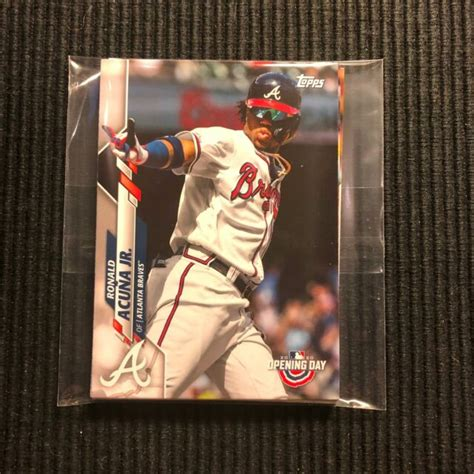 2020 TOPPS OPENING DAY ATLANTA BRAVES TEAM SET 7 CARDS ...