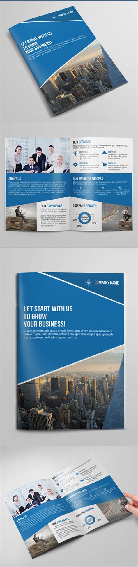 Bi Fold Brochure Design Templates by Corporate Business Brochure Templates Design Graphic