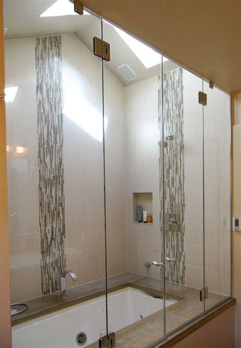 17 best ideas about vertical shower tile on
