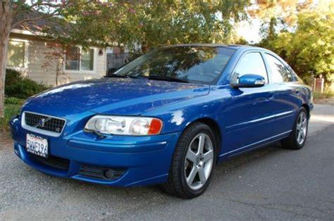 purchase   volvo    door sedan blue manual